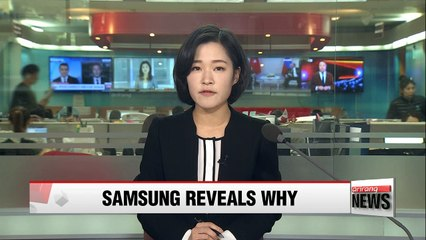 Samsung Electronics says battery defect was cause of Galaxy Note 7 fires