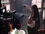 Filming of demi moore head shave-l8cl7Uh3WmM