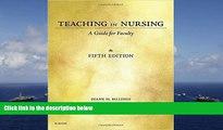 Audiobook  Teaching in Nursing: A Guide for Faculty, 5e Diane M. Billings EdD  RN  FAAN  For Online
