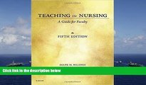 Audiobook  Teaching in Nursing: A Guide for Faculty, 5e Diane M. Billings EdD  RN  FAAN  For Online