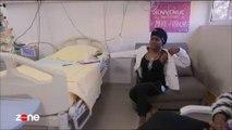 Maitre Gim's rend visite par surprise à une enfant malade à l'hôpital Trousseau - Regardez