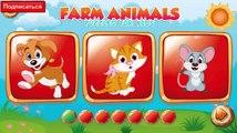 Мультик про Животных, названия животных+голоса животных, Игровой Puzzle мультфильм для детей