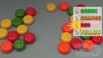 Fun Learning Contest with Eggs Surprise! Learn Colours With Smiley Face Yo Yos!!