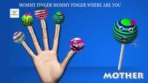 Finger Family Top 5 Cake Pop Lollipop Ice Cream Cup Cake Cartoon Nursery Rhymes Collection