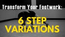 Bboy Footwork Tutorial | 6-Step Variations