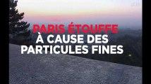 Paris suffoque sous la pollution aux particules fines