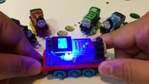 Spooky Thomas & Friends Light Up Racer thomas train Glow Racers Minis Glow in Dark Spooktacular