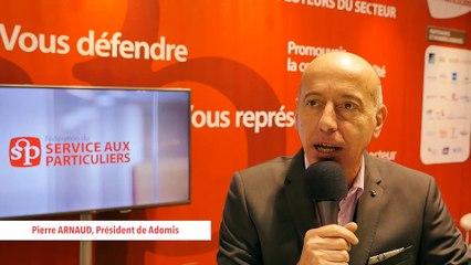 Fesp - Salon des SAP 2015 - ITW de Pierre ARNAUD - Adomis-SD