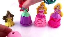 Разработанная Диснея платья принцесс Ариэль Аврора Белль Рапунцель пластилин платье девушка игры новые