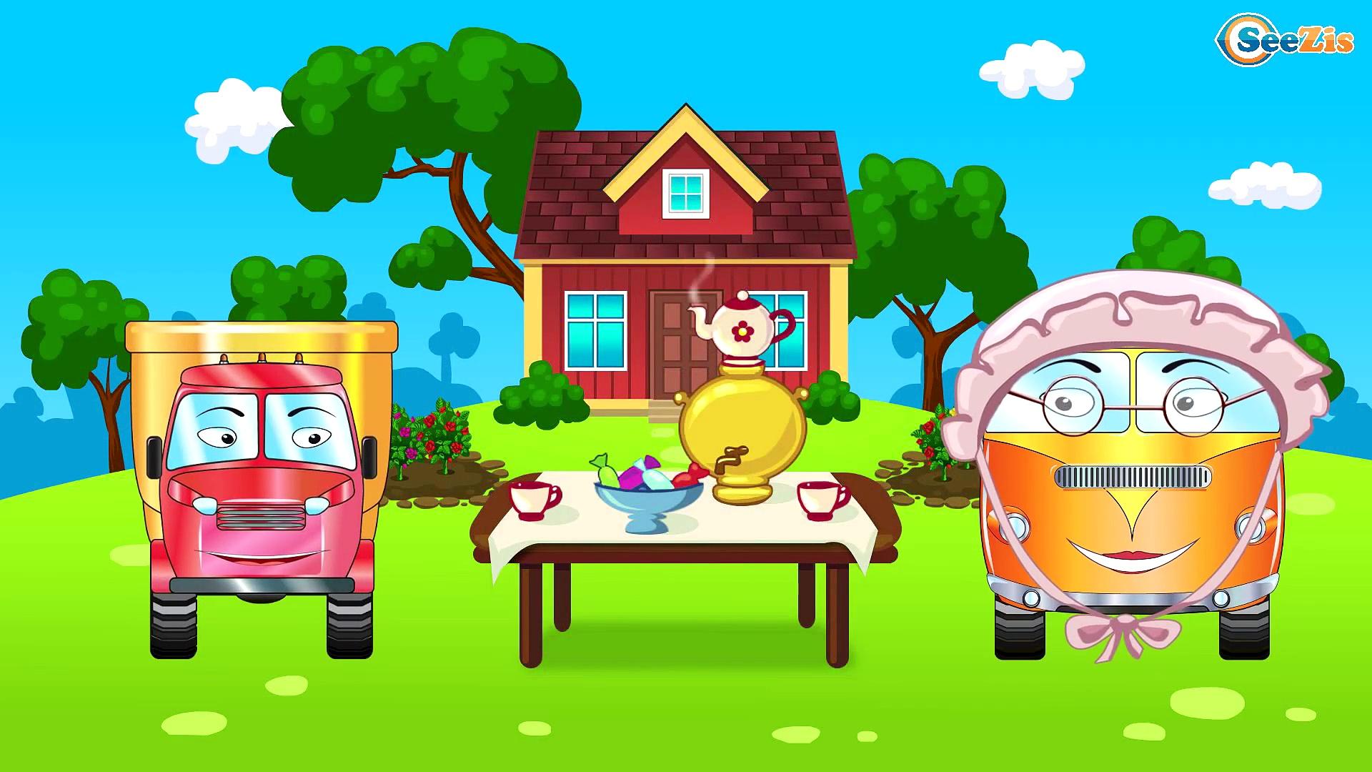 Construction Trucks: The Good Truck & Dump Truck & Crane – Cars & Trucks Cartoon for kids