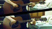 Tears in Heaven - Eric Clapton / Acoustic Guitar Fingerstyle 2 Guitars (Nedel) TAB FREE