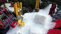 Découverte du parcours du spectacle Ski & Snow du 16 janvier 2016