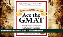[PDF]  Ace the GMAT: Master the GMAT in 40 Days Brandon Royal Pre Order
