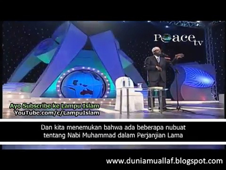 [8] APAKAH NABI MUHAMMAD MENJIPLAK INJIL ? - Dr. Zakir Naik Menjawab Fitnah Kristen