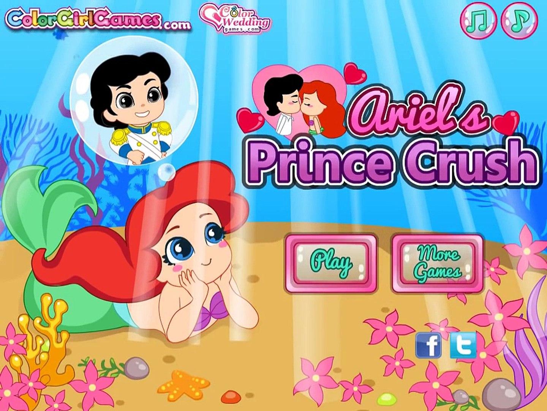 Игра про маленькую Ариэль! Игра для девочек! Детские игры! Kids Video!