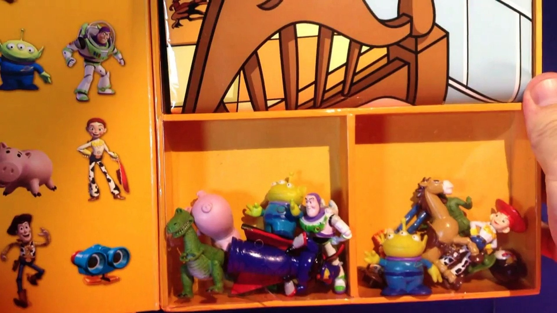 Toy Story unboxing My Busy Books! 12 Disney Pixar Toy Story Figures with Storybook and Playmat!