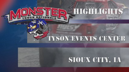 Sioux City, IA Monster Truck Nationals Highlights
