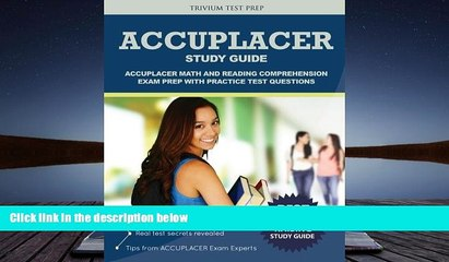 BEST PDF ACCUPLACER Study Guide: Math and Reading