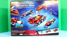 Amazing Spider Man Mega Battle Racer Gets Attacked By Shark Marvel Comics Toy Spiderman