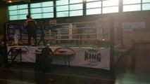 Victoria Marchetti (Muay Thai Vendinois) vs Vanderweyen Mathilde (BC Han-Geki) Gala Virton 22/01/2017