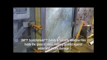 Window Film Withstands Hurricane Damage