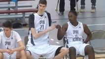 "WATCH: 7'7"" 16-YEAR-OLD High School Basketball Player Robert Bobroczky Makes His U.S. Debut"