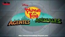 Disney Channel España Promoción Phineas y Ferb Agentes Animales
