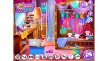 NEW Игры для детей—Disney Принцесса Эльза порядок в комнате—Мультик онлайн видео игры для девочек