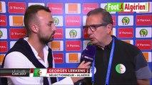 Réaction du sélectionneur national Georges Leekens à la fin du match Algérie - sénégal 2-2