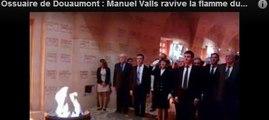 Ossuaire de Douaumont : Manuel Valls ravive la flamme du soldat...