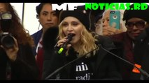 Madonna 'Blowing up the White House Speaking at Women protest Madonna Speech