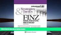 Download Strategies   Tactics for the FINZ Multistate Method (Emmanuel Bar Review) (Emanuel Bar