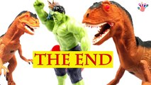 Surprise Egg Dinosaur Vs Hulk Toys Stop Motion Animation Movie   Hulk Theft Dinosaurs Toy