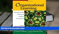 PDF Organizational Learning: Improving Learning, Teaching, and Leading in School Systems For Ipad