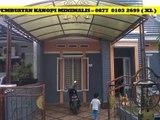 Kanopi Minimalis Gresik - HUB 0877- 0103 – 2699 (XL)