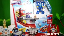 Transformers Rescue Bots Deep Water Rescue High Tide Optimus Prime Decepticons Buymblebee