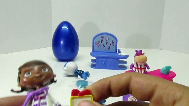 DOC MCSTUFFINS Halley PLAY-DOH Surprise Egg with Surprise Toys from Doc McStuffins