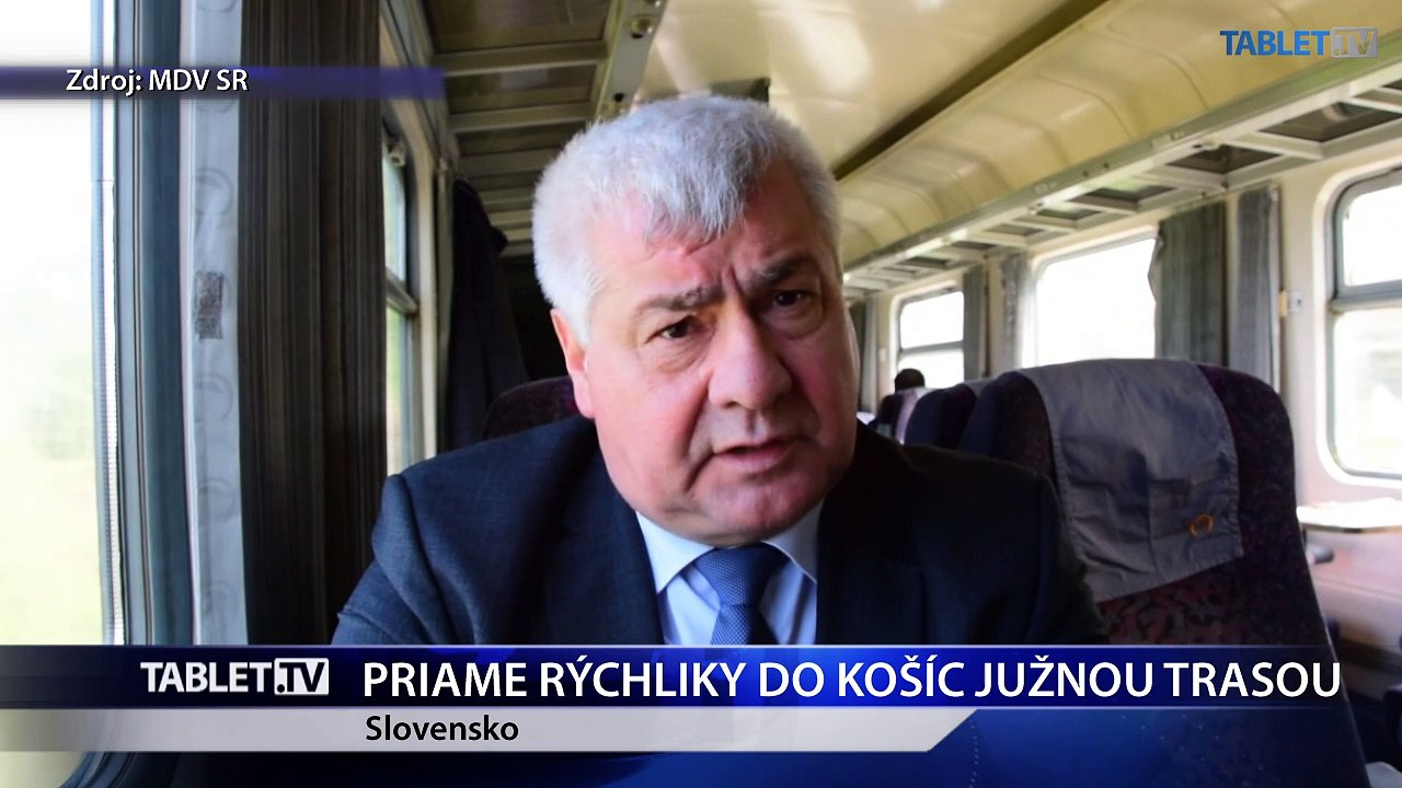 ÉRSEK: Plánujeme obnoviť priamy vlak z Bratislavy do Košíc cez Zvolen