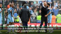 "FA Cup - Guardiola: ""Félicitations à Arsenal et Chelsea"""