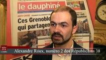 Présidentielle en Isère : la réaction d'Alexandre Roux