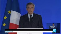 Présidentielle 2017 en France : François Fillon, 1er candidat de la droite à ne pas accéder au 2nd tour