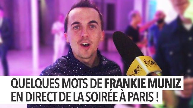 Interview de Frankie Muniz et de Brice Ournac à soirée parisienne Meet Malcolm