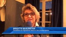 Elections présidentielles 1er tour : la réaction de Brigitte Beaumeyer, candidate aux législatives dans le 1ère circonsc
