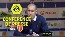 Conférence de presse Olympique Lyonnais - AS Monaco (1-2) : Bruno GENESIO (OL) - Leonardo JARDIM (ASM) - Ligue 1 / 2016-17