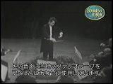 Brahms: Symphony No.1 [4th mov latter half] / Karajan Wiener Philharmoniker (1959 Movie Japan Live)