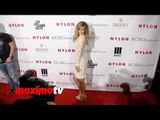 Carmen Electra NYLON & BCBGeneration Young Hollywood Party Red Carpet