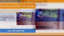 Garage Door Repair & Installation Services in Richmond Hill