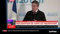 Élections présidentielles 2017 : Jean-Luc Mélenchon refuse de donner une consigne de vote