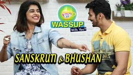 WassUp With You   Episode 1   Sanskruti Balgude & Bhushan Pradhan   Gossip, Love, FU & Marathi Movie