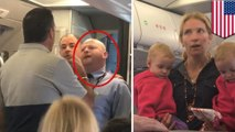 American Airlines suspends flight attendant for clash with passengers